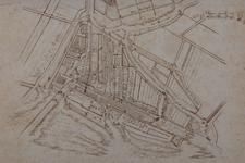 RI-5 Historische plattegrond van Rotterdam