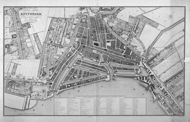 RI-61A Plattegrond van Rotterdam