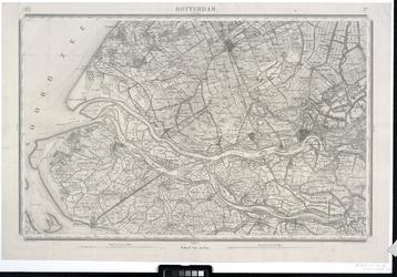 RI-64 Topografische kaart van Nederland blad 37: Zuid-Holland: Rotterdam en omgeving