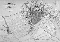 RI-72 Kaart behorende bij het plan voor de aanleg van nieuwe straten in de polders Cool en Rubroek