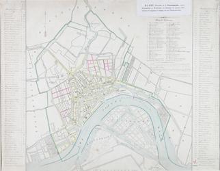 RI-73 Kaart van Rotterdam en omgeving behorende bij de voorwaarden tot tot verlening van een concessie voor de ...
