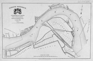 RI-82D Kaart van het grondgebied van de gemeente Rotterdam op de linker Maasoever (Rotterdam-Zuid).