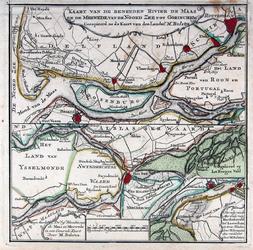 RI-89A Kaart van de Nieuwe Maas en de Merwede van de Noordzee tot aan Gorinchem