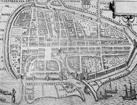 RI-9-2 Plattegrond van Rotterdam