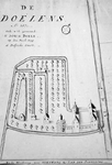 RI-957 Plattegrond van de Sint-Joris Doele.