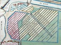 RISCH-101 Kopie van een kaart van het tot lakenramen uitgegeven grondgebied van het Hof van Weena, op de kaart ...