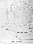 RISCH-101A Plattegrond van de grondpercelen in het gebied omgeven door Stroveer, Hofdijk, Weenaplein, Weenastraat, ...