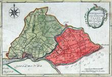 RISCH-11A Kaart van het hoogheemraadschap van Schieland en van de Krimpenerwaard