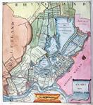 RISCH-12 Kaart van het Hoogheemraadschap van Schieland, omgeven door de Krimpenerwaard en de hoogheemraadschappen van ...