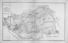 RISCH-16 Kaart van het Hoogheemraadschap van Schieland