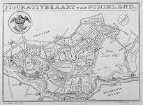 RISCH-17 Kaart van het Hoogheemraadschap van Schieland