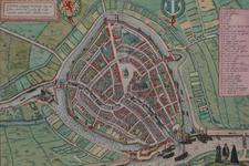 RISCH-191 Plattegrond van Gouda