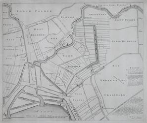 RISCH-20 Plankaart van de Schielandse Hoge Boezem met delen van de omliggende polders