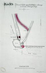 RISCH-24A-3 Plan 3. behorend bij het rapport tot verbetering van de waterontlasting van de Rotte.