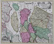 RISCH-7 Kaart van de hoogheemraadschappen Delfland, Schieland en de aanliggende eilanden Voorne, Overflakkee, Goeree, ...
