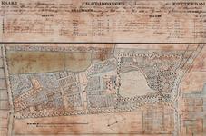 RISCH-74 Kaart van de buitenplaats genaamd Slot Honingen.