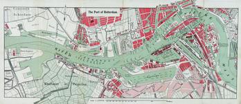 VI-133-02 Kaart van de haven van Rotterdam. Verso: kaart van Rotterdam naar zee en van de ingang van de Nieuwe- Waterweg