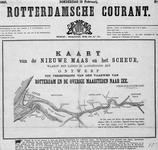 VI-28 Kaart van de Nieuwe Maas en het Scheur en het plan tot verbetering van de vaarweg van Rotterdam naar de Noordzee