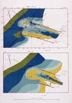 VI-34A Hydrografische kaart van de monding van de Nieuwe Waterweg bij Hoek van Holland