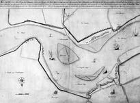 VI-4 Kaart van de loop van de Nieuwe Maas vooor de stad Rotterdam