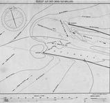 VI-53-00-01 Hydrografische kaart van de monding van de Nieuwe Waterweg bij Hoek van Holland, met aanduiding van ...