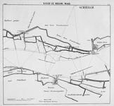 VI-56-5 Kaart van de Nieuwe Maas en het Scheur van Rotterdam tot de grensscheiding der gemeente 's gravenzande en ...