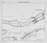 VI-56-6 Kaart van rivier de Nieuwe Maas en het Scheur van Rotterdam tot de grensscheiding der gemeente s'Gravenzande en ...