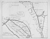 VI-66C Kaart van de rivier Nieuwe Maas ter plaatse van de polder Klein oosterland (Oostvoorne) en de Krabbepolder (Rozenburg)