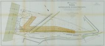 VII-123-00-02-01 Plattegrond van het terrein van de Rotterdamsche Handelsvereeniging op Feijenoord