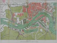 VII-15-01 Kaart van de havens van Rotterdam