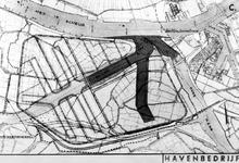 VII-154-52-11-00-00-02 Plankaart voor de ontwikkeling van het Botlekgebied met aanduiding van de onteigeningsgrens