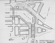 VII-165 Plattegrond van de Parksluizen en het tweede deel van de Coolhaven
