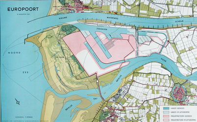 VII-168-00-00-107-01 Kaart van het Europoortgebied in uitvoering