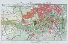VII-26 Kaart van de havens van Rotterdam.
