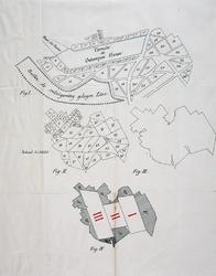 VII-356-I-TM-III Plankaarten en perceeltekeningen voor de aanleg van de Maashaven