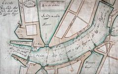 VII-391-01 Plattegrond van de Oudehaven en omgeving