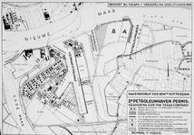 VII-450-06 Kaart van de Petroleumhaven en de aan te leggen 2e Petroleumhaven