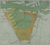 VII-522 Plankaart van de Waalhaven