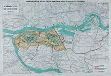VII-53-00-01 Plankaart voor niet-uitgevoerde havenuitbreidingen op de linker Maasoever.