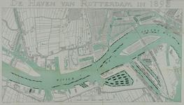 VII-9 Kaart van de havens van Rotterdam