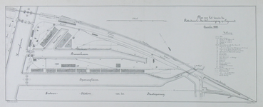 XIV-305 Plan voor het handelsterrein van de Rotterdamsche Handelsvereeniging op Feijenoord