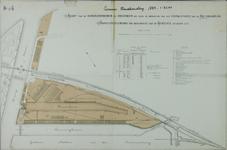 XIV-306 Plattegrond van het terrein van de Rotterdamsche Handelsvereeniging op Feijenoord