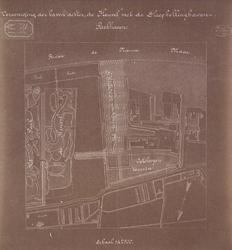 XV-257-06 Plattegrond van de Vereeniging der haven achter de Heuvel met de Sleephellinghaven [lichtdruk]