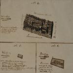 XVIII-361-2 Diachrone presentatie van het grondperceel van de Sint-Rosaliakerk tussen de Leeuwenstraat en de Vierwindenstraat