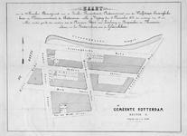 XXV-358-00-02 Kaart van 29 te verkopen grondpercelen gelegen aan de Jonker Fransstraat, Oudaenstraat, Van der ...