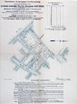 XXV-595-01-03 Kaart van te verkopen grondpercelen gelegen tussen de Schiekade, de Zomerhofstraat en de Teijlingerstraat
