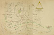 XXVIII-0-01 Kaart van het Westland met aanduiding van de afwatering van de buitenplaats te Honselersdijk op de Maas [kopie]