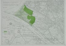 XXVIII-5-00-03 Kaart van Hoek van Holland met in groen aangegeven de landelijke gebieden C en D