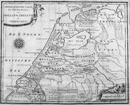XXX-0-00-01-01 Historiekaart van Holland, Zeeland en Friesland in de middeleeuwen. Het in kaart gebrachte gebied omvat ...