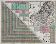 XXX-0-00-04 Kaart en stedewijzer van de 17 provinciën der Nederlanden